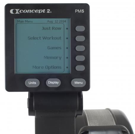Rower Concept2 PM5 backlight