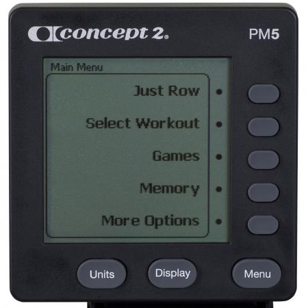 Rower Concept2 PM5
