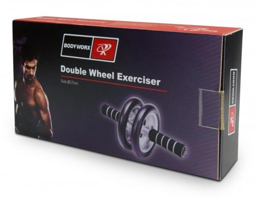 Dual Wheel Exerciser Boxed