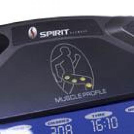 Elliptical Cross Trainer Spirit XE295 muscleact